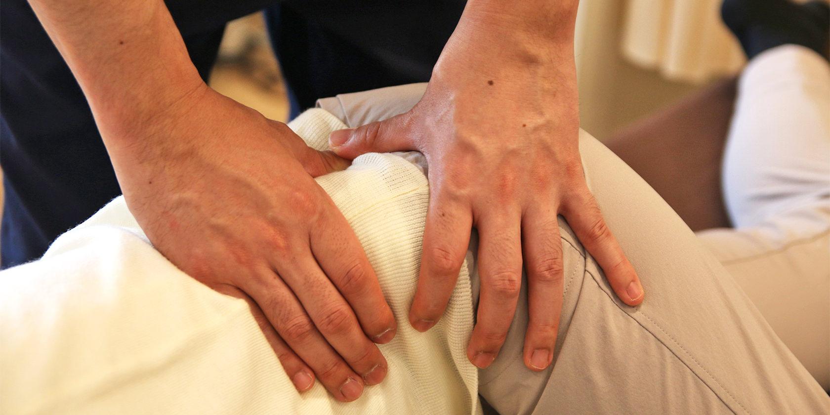 痛みの原因となる筋肉を、的確に治療する。